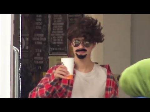 Justin Bieber Tries to Go Undercover in Hilarious Disguise