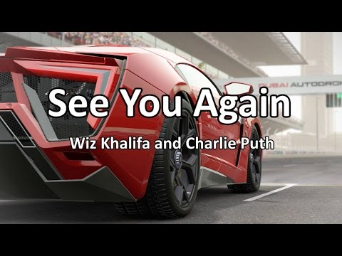 See You Again  - Lyric Video (Clean Version)