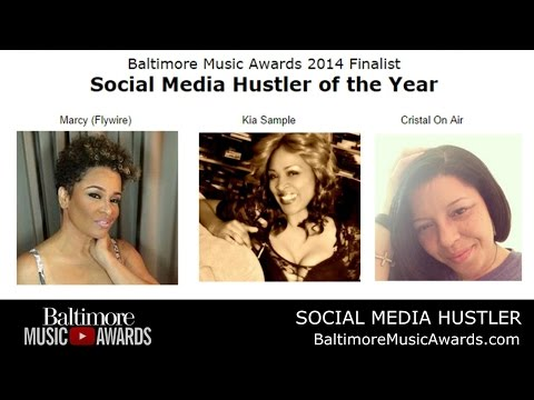 Vote SOCIAL MEDIA HUSTLER of 2014 #BaltimoreMusicAwards