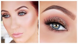 Antique Bronze Smokey Eye Makeup Tutorial | Jaclyn Hill