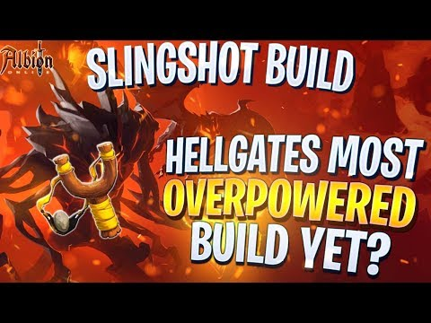 Albion Online The SLINGSHOT Build! Most Overpowered Hellgates 2v2