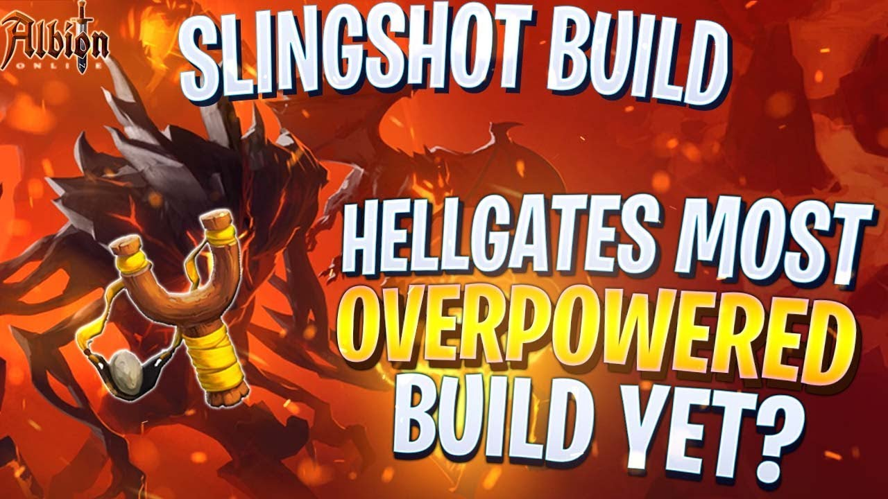 Albion Online The SLINGSHOT Build! Most Overpowered Hellgates 2v2 PVP Build  in Albion Online 2019!