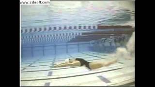 Patada de delfín de Natalie Coughlin n...