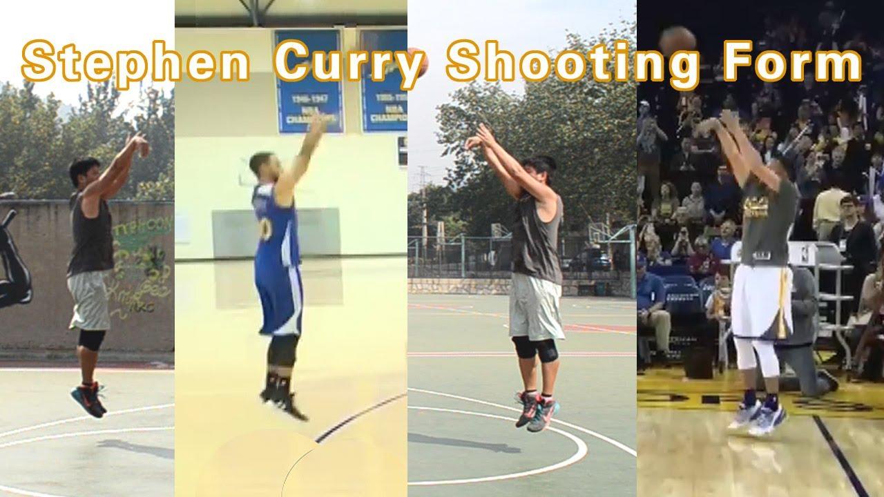 Basketball Shooting Training with Stephen Curry's Shooting ...