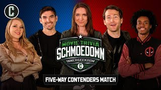 Innergeekdom League 5-Way Contenders Match - Movie Trivia Schmoedown