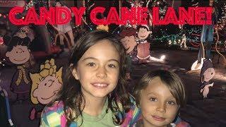 Trip to Candy Cane Lane!