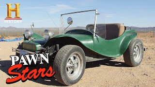 Pawn Stars: Seller Wants Top Dollar for '67 Dune Buggy (Season 16) | History