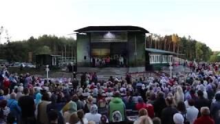 Выступление детского хора на концерте Колокола любви в Пинске
