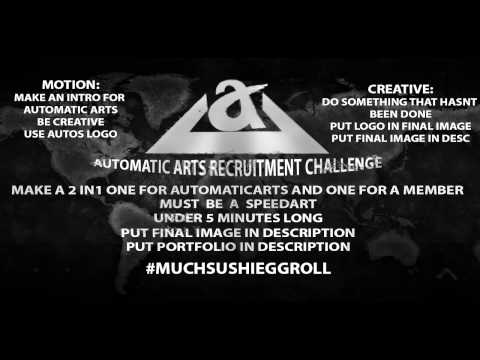 Automatic Arts Designer Recruitment Challenge.