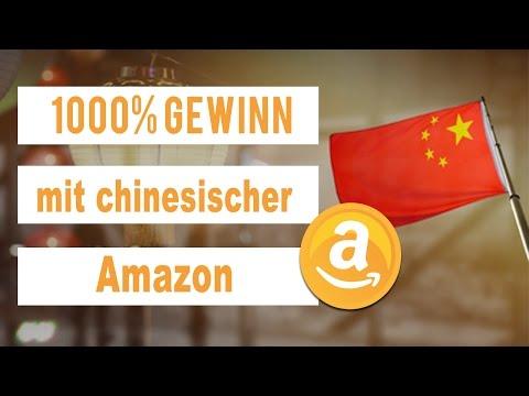 1000% Gewinn mit chinesischer Amazon!