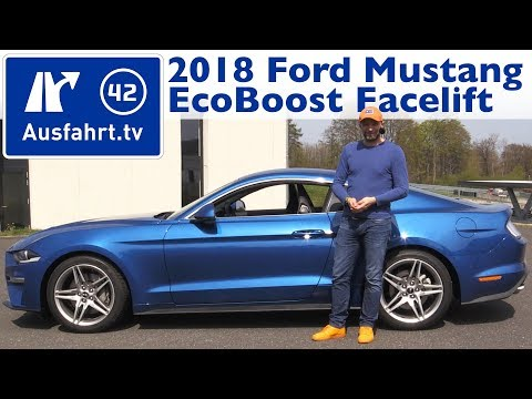 2018 Ford Mustang 2.3l Ecoboost FL - Kaufberatung, Test, Review