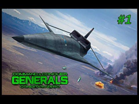 C&C Generals Condition Zero - Part One - USA Experimental General