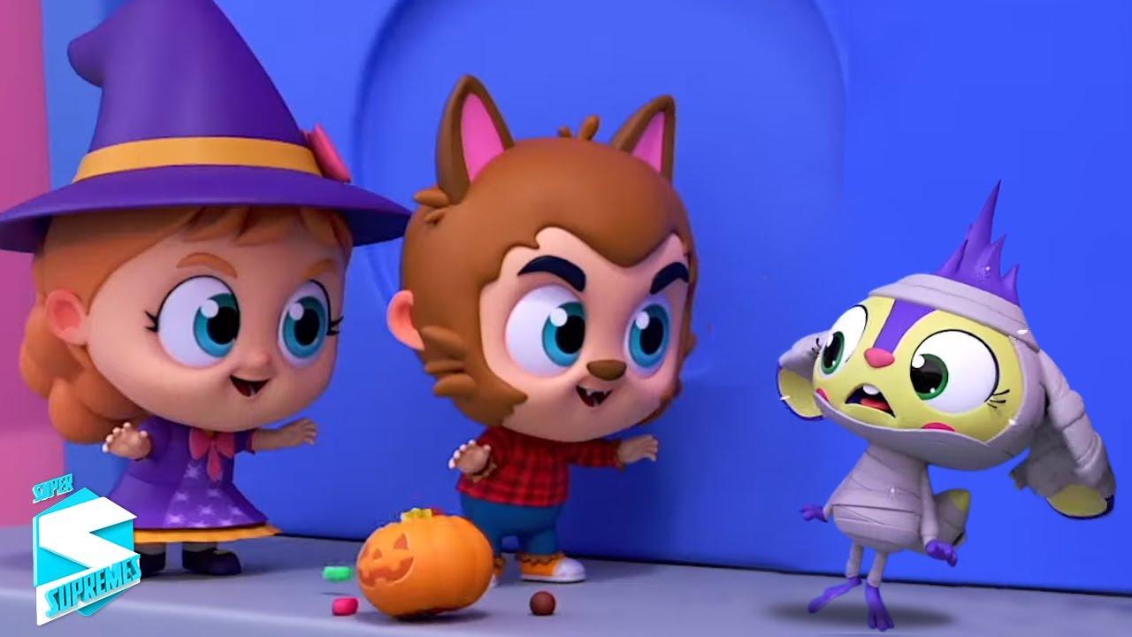 Хеллоуин парад   Песни для детей   Super Supremes Russia   Развивающие мультфильмы