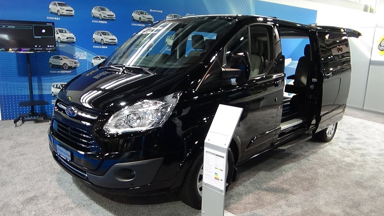 2018 ford tourneo custom 310 l2 titanium exterior and. Black Bedroom Furniture Sets. Home Design Ideas