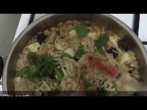 Paneer pulao / Cottage cheese pulao