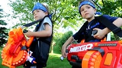 Nerf War : Payback Time 8 (New Blasters)