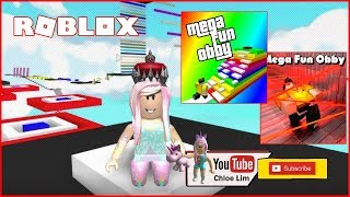 Part 8 of my Long quest on the Mega Fun Obby! | Roblox Mega Fun Obby