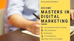 Digital Marketing Course in Hyderabad with 100% Placement | Digital Marketing Trainer