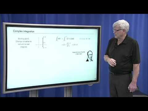 4.4 Analytic Functions and Complex Integration [Lecture 4 - Complex Analysis, ...]