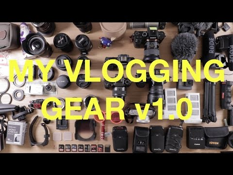 MY CAMERA GEAR - What I Shoot Vids With