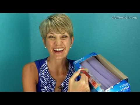 How To Organize Food Storage Bags Wraps And Foil
