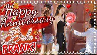Happy Anniversary Babe Prank!