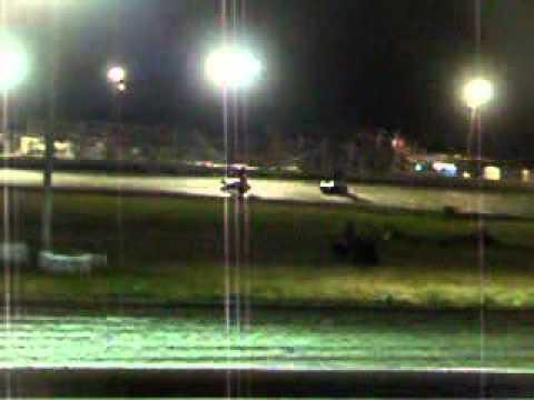 Starman Tony Dowd Mountain Creek Speedway Heat win