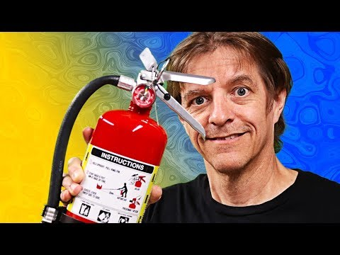 Install Fire Extinguisher - Fire Safety In The Shop