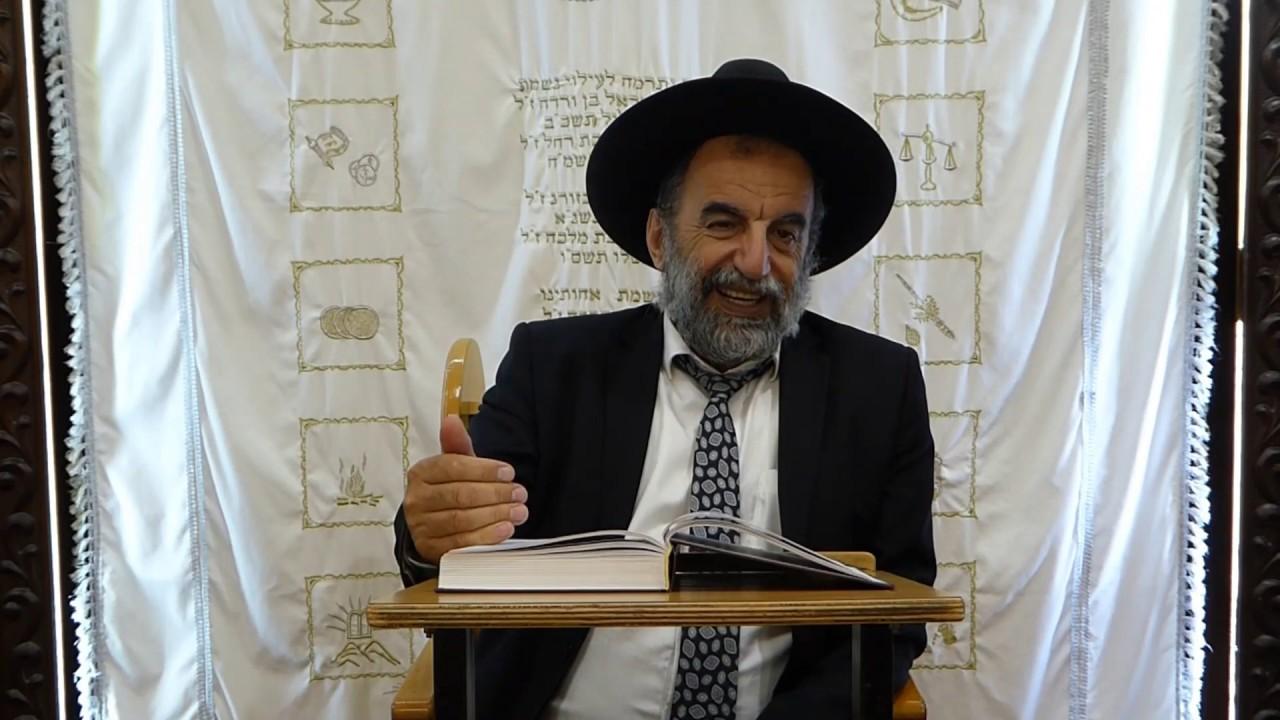 """הרב יהודה נקי שליט""""א הלכות בשר וחלב חלק ב'"""