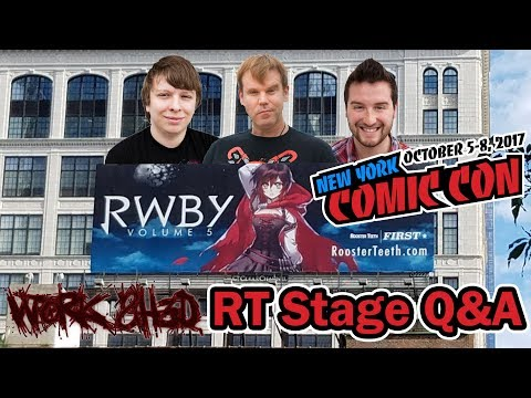 Rooster Teeth Q&A With Miles, Kerry, And Gray NYCC 2017