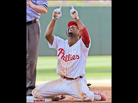Jimmy Rollins Rookie Highlights HD