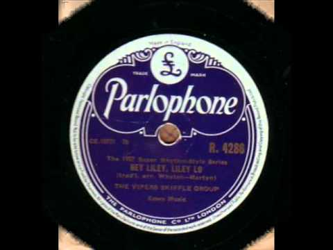 THE VIPERS SKIFFLE GROUP  HEY LILEY, LILEY LO  78RPM