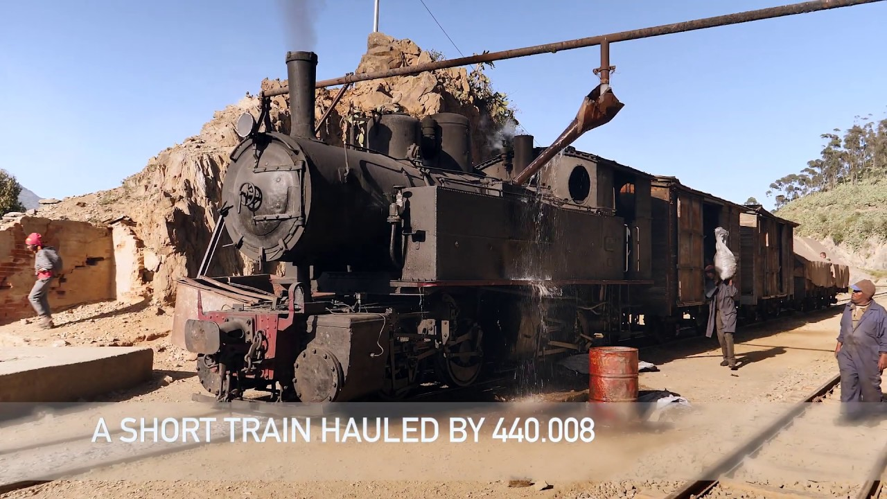 Steam in the mountains: Eritrea - YouTube