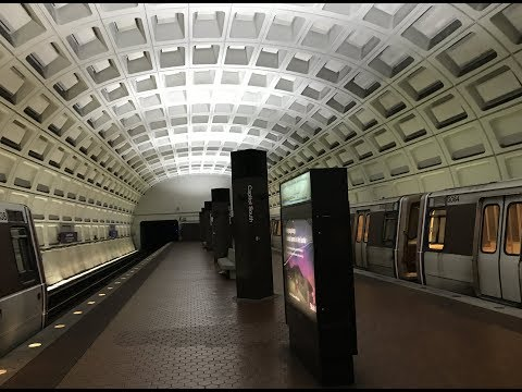 Our 7000 Series Metro Ride Into Washington DC For The Highrise Elevator Lover