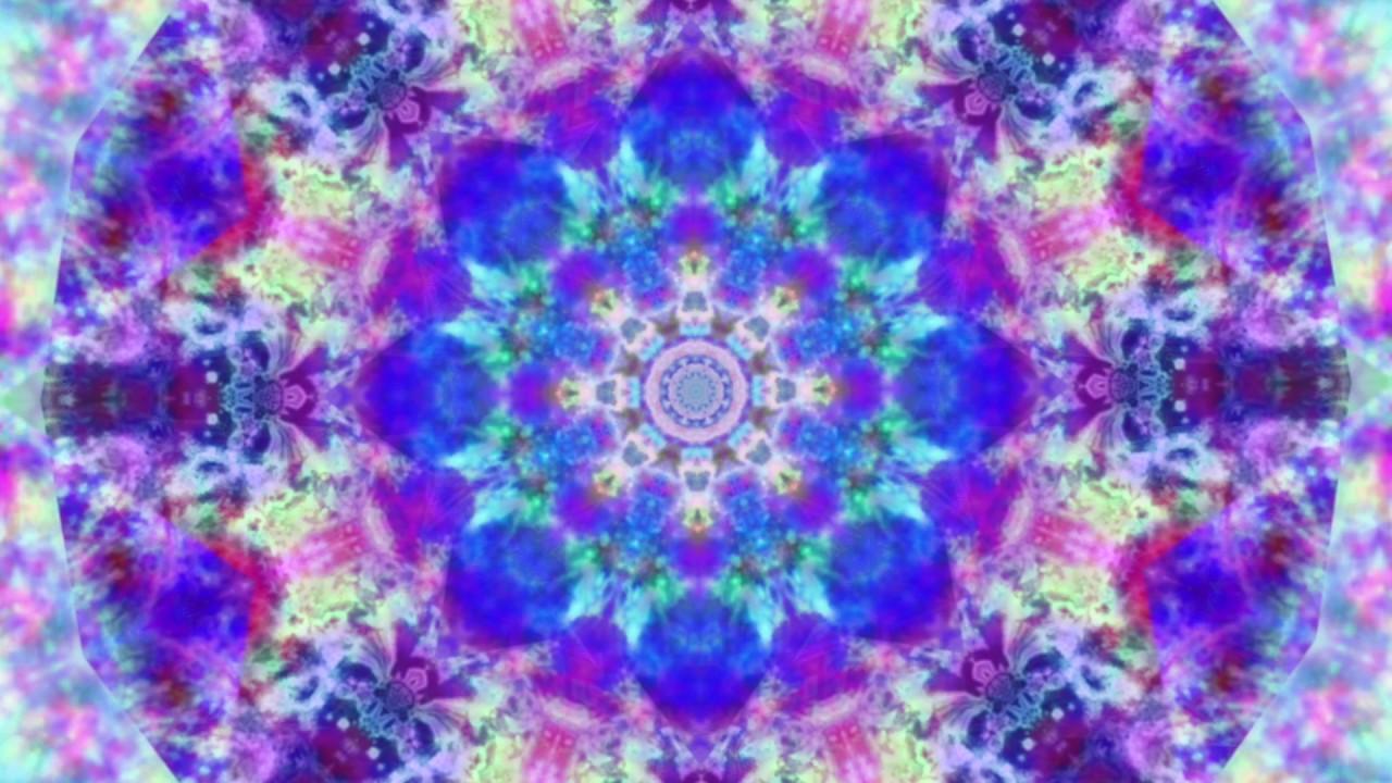 Trippy Rainbow Tie Dye Kaleidoscope Footage Kaleidotime Youtube