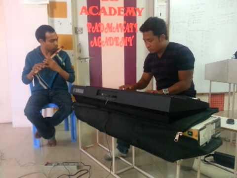 saathiya... (Singham) flute n piano. Dr. Varun