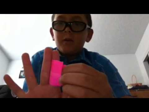 How to make a loud paper whistle