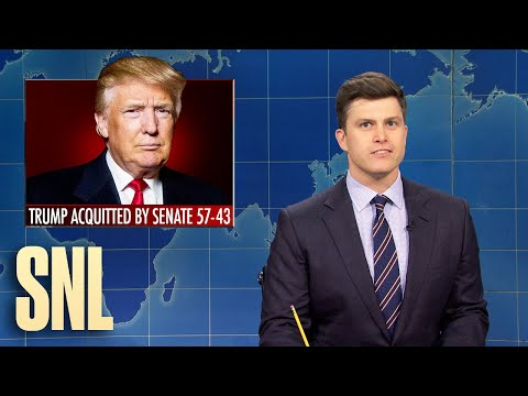 Weekend Update: Trump Acquitted in Second Impeachment - SNL
