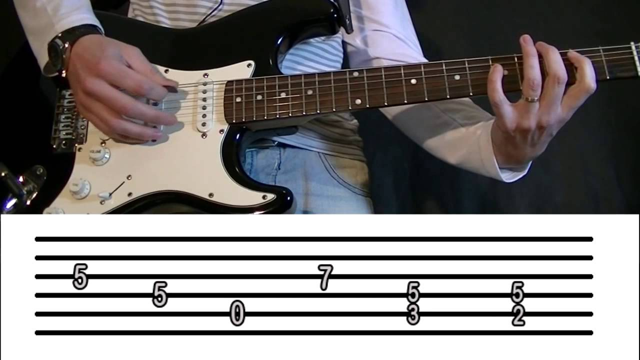 how to play hells bells on guitar tabs
