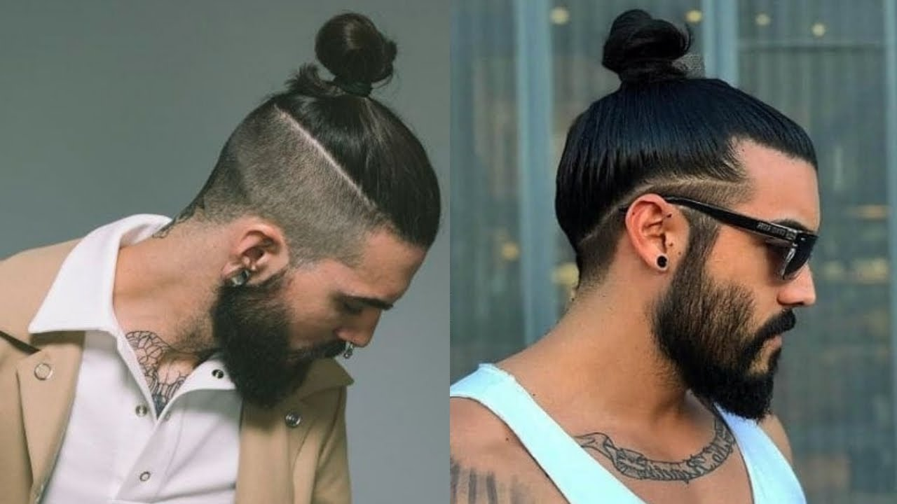 Best Man Bun Hairstyles For Men 2019 | Top Knot Hairstyles ...