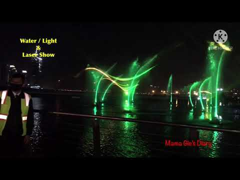 Dubai Festival City Mall Laser Show   2021  #Lasershow #Onthecreek