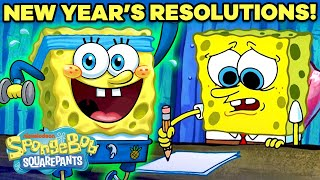 2021 New Year's Resolutions As Portrayed By SpongeBob! 🥳