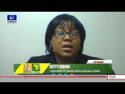 Network Africa: Channelstv S.Africa Bureau Chief Updates On Pretoria Violence