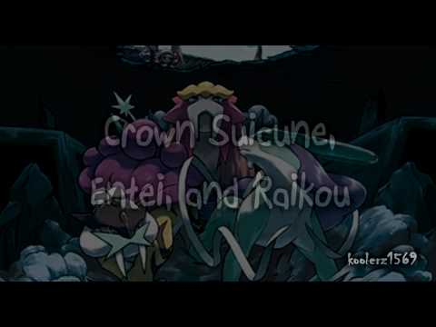 Action Replay Code: Crown Suicune, Entei, And Raikou