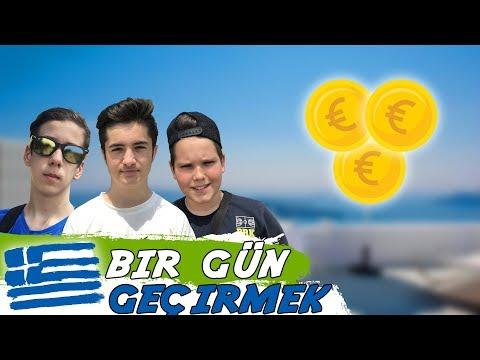 YUNANİSTANDA 2 EURO İLE 1 GÜN GEÇİRMEK!