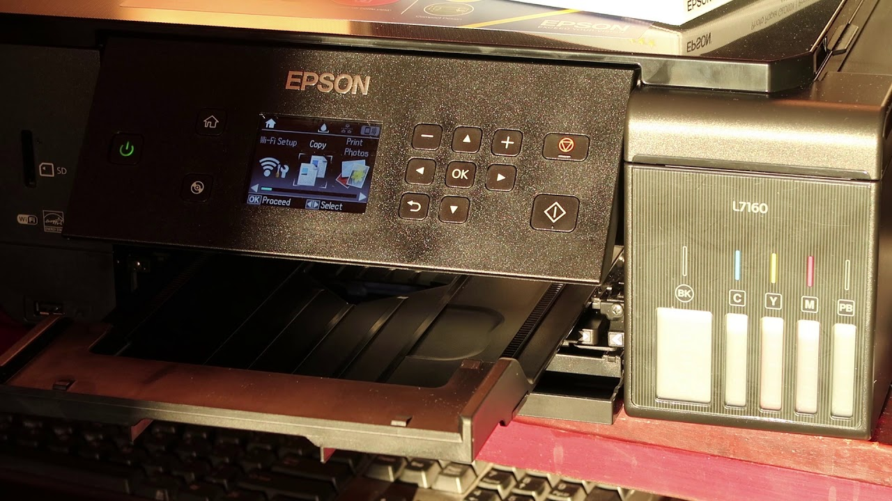 Unpacking and Setting Up a Printer (Epson L6190, ET-4750) NPD6171