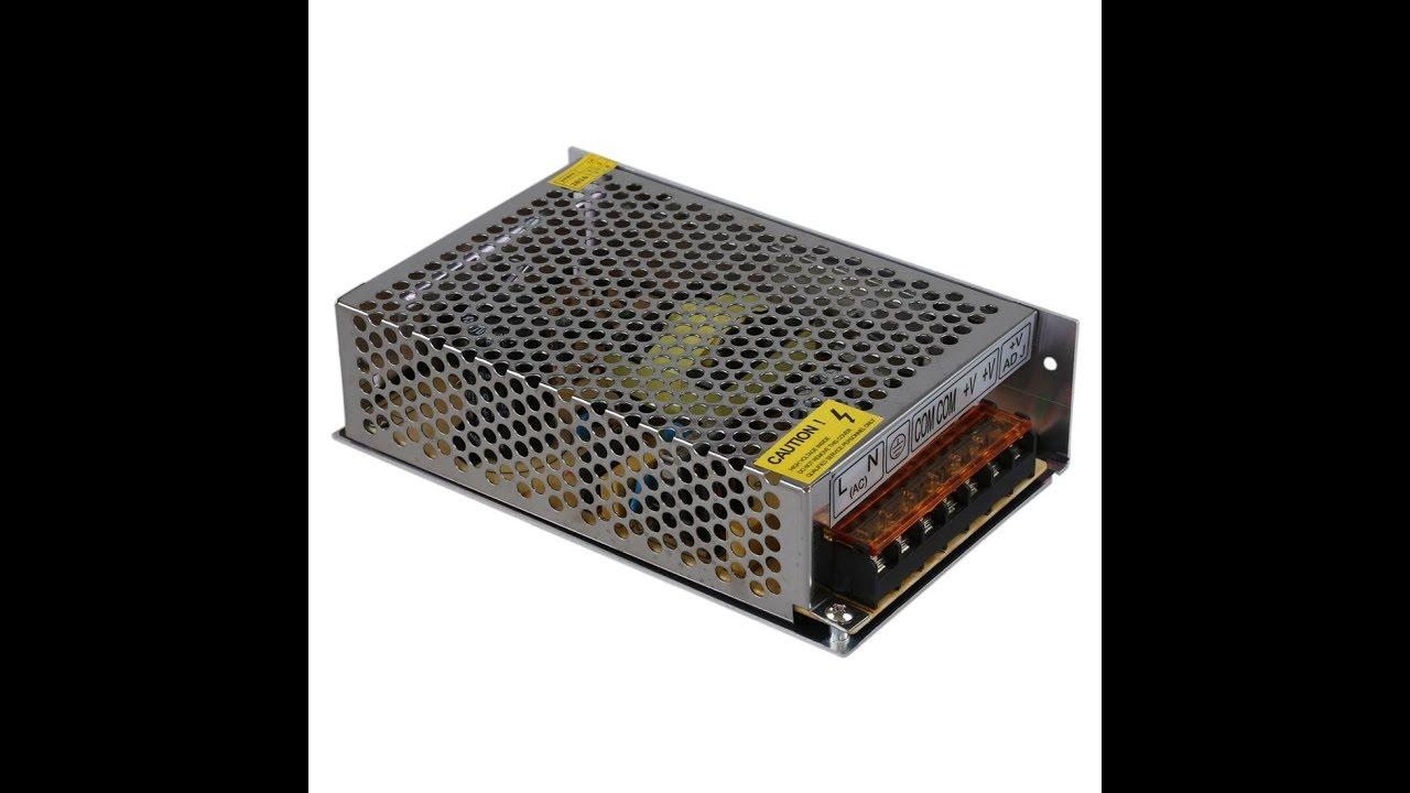 Ремонт драйвера для светодиодной ленты 12 В 100 Вт.
