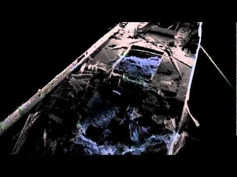 RESON SeaBat 7125 wreck survey