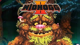 Nidhogg 2 Gameplay German - Dolchkampf im Mooswald