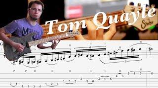 Tom Quayle Jazz Fusion Legato Lick #1 [GUITAR LESSON TV]